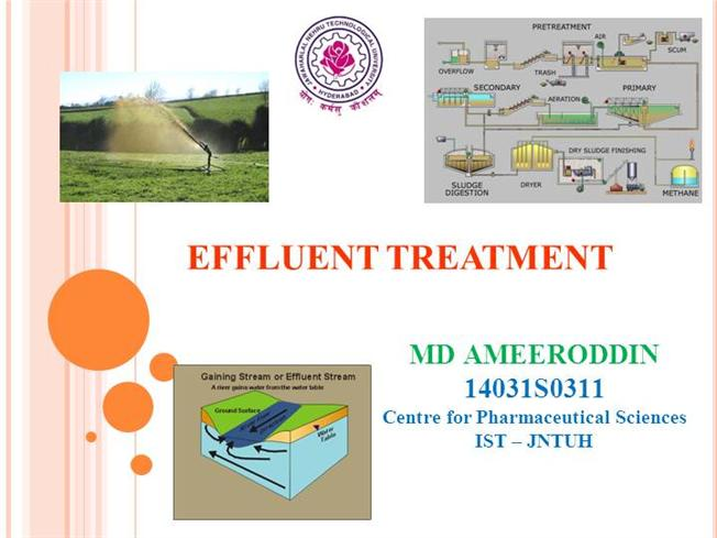 study of recycling industrial effluent pdf
