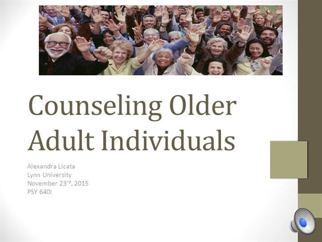 what counselling adult