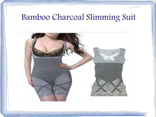 Bamboo Charcoal Slimming Suit |authorSTREAM