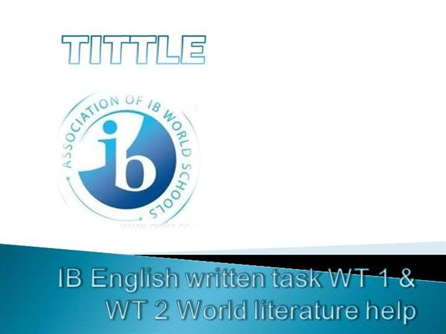 english written task Scoring the advanced (cae) writing test makes up 20% of the entire exam your writing is assessed using four criteria: content - have you answered the question communicative achievement - have you completed the task in the right sort of language organisation - have you structured your writing with paragraphs.
