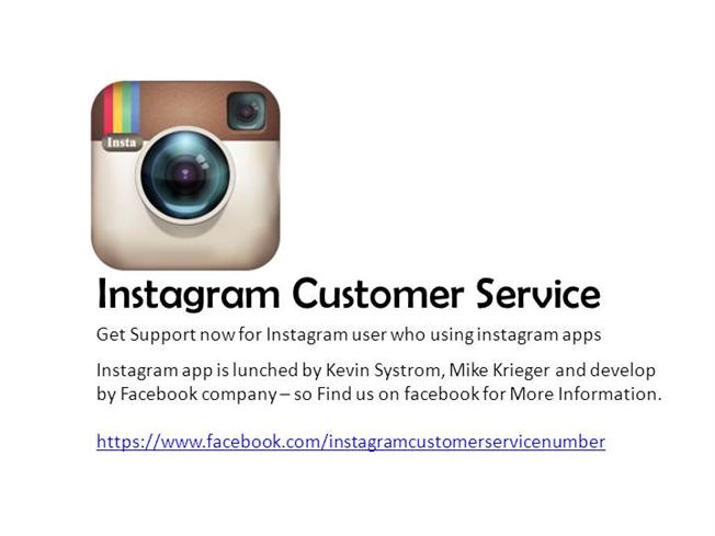 Instagram customer service phone number authorstream - Carphone warehouse head office phone number ...