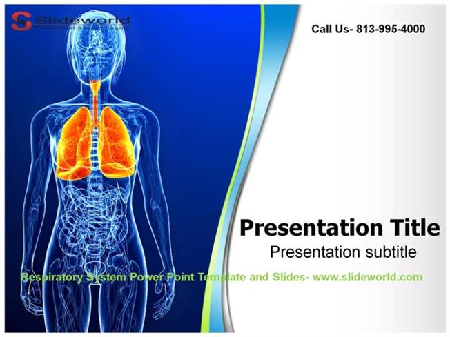respiratory system powerpoint template