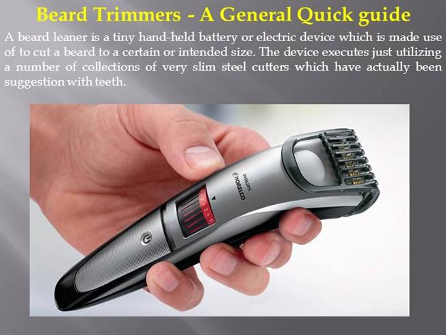 beard trimmers a general quick guide authorstream. Black Bedroom Furniture Sets. Home Design Ideas