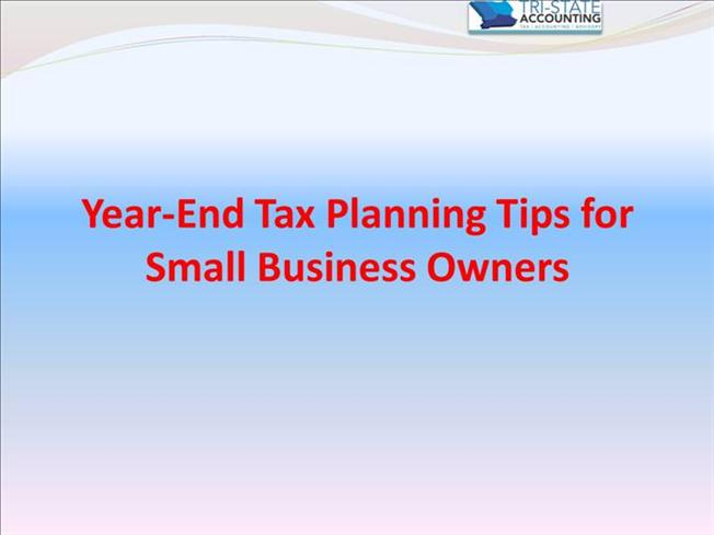 10 Year-End Smart Tax Strategies for Business Owners