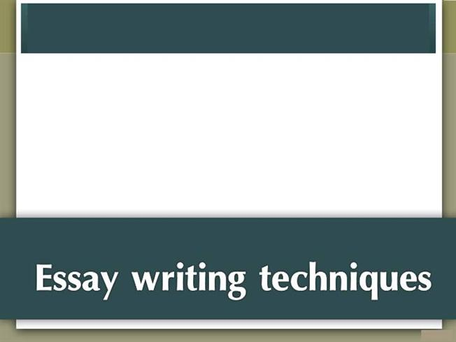 essay writing techniques for css Since creative writing is all about holding the reader's interest, there must be some lessons to be learned from it and techniques that can be applied within the more limited style constraints of the academic essay.
