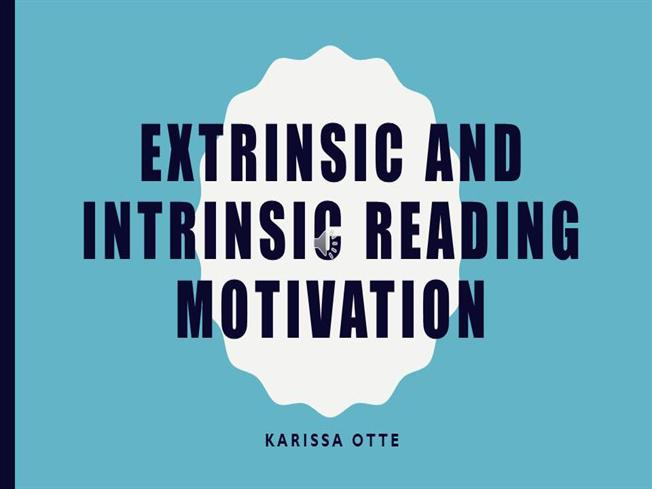 how to develop intrinsic motivation