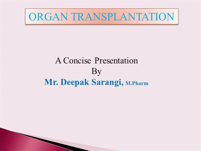 conclusion of organ transplantation Essays - largest database of quality sample essays and research papers on conclusion of organ transplantation.