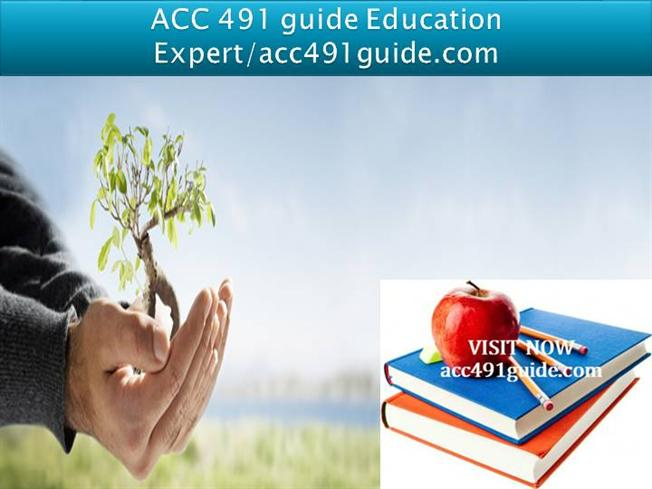 acc 491 week 2 individual assignment