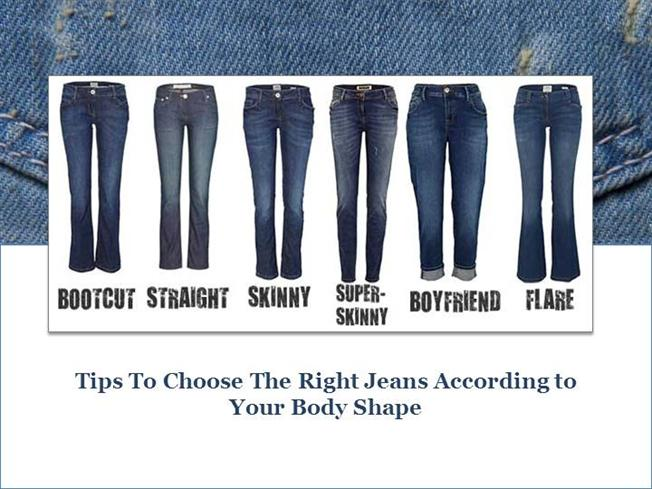 Choose the Right Jeans According to Body Shape  authorSTREAM
