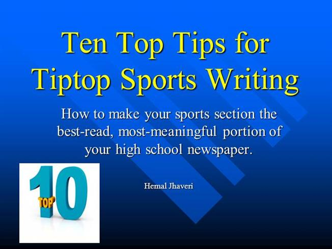 persuasive writing of sports How to write a persuasive essay a persuasive essay is an essay used to convince a reader about a particular idea or focus, usually one that you believe in.