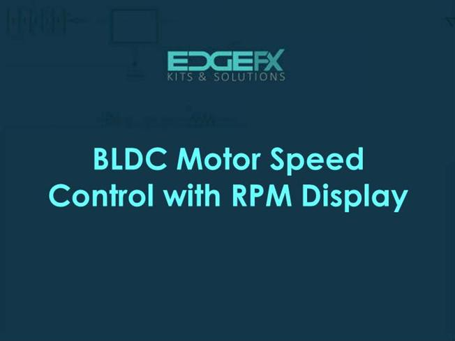 Bldc motor speed control with rpm display authorstream for Speed control of bldc motor
