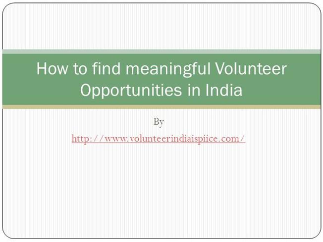 the process of finding volunteer work Search volunteer opportunities volunteermatch is the #1 volunteer-engagement network find volunteer information and listings in your local community now.
