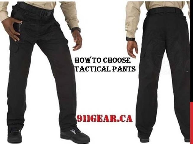 How to Choose Tactical Pants? |authorSTREAM