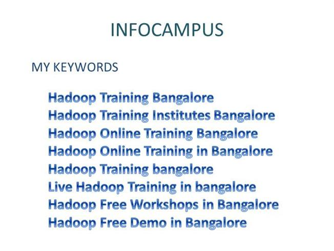 Hadoop Training Bangalore |authorSTREAM