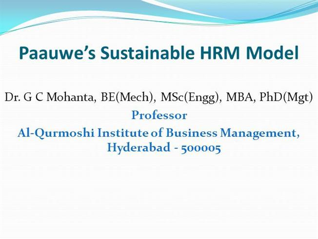 "hrm evaluation and hrm models 1 the hard and soft hrm models: storey distinguished between the 'hard' and 'soft' versions of hrm he wrote that: 'the hard one emphasizes the quantitative, calculative and business-strategic aspects of managing human resources in as ""rational"" a way as for any other economic factor."