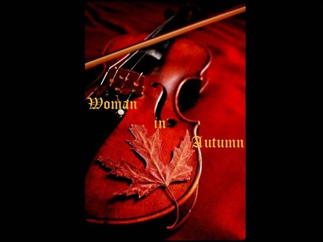 romeo and juliet powerpoint template - fall 26 woman in autumn romeo and juliet andre rieu violin
