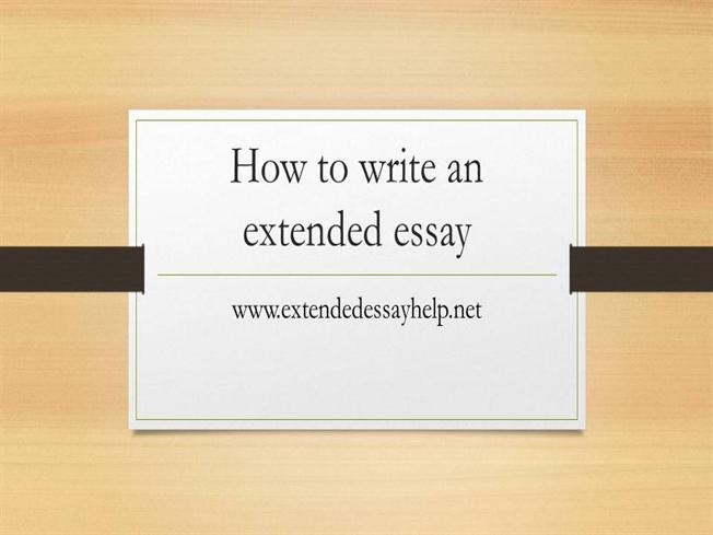 writing an extended essay in economics essay Largest database of quality sample essays and research papers on writing an extended essay in economics writing an extended essay in economics.