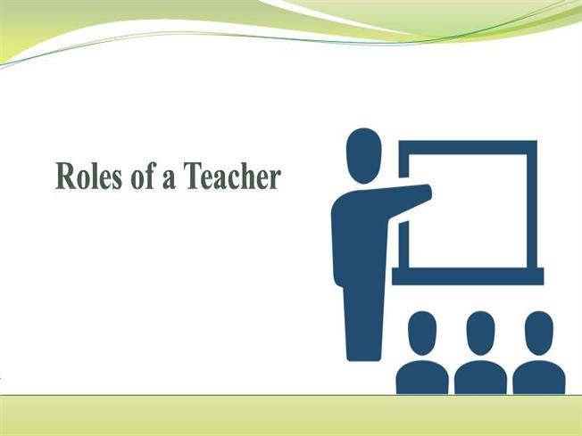 roles of a teacher The role of a teacher is of great importance not only in his/her classroom but in society in general he/she is responsible to communicate and.