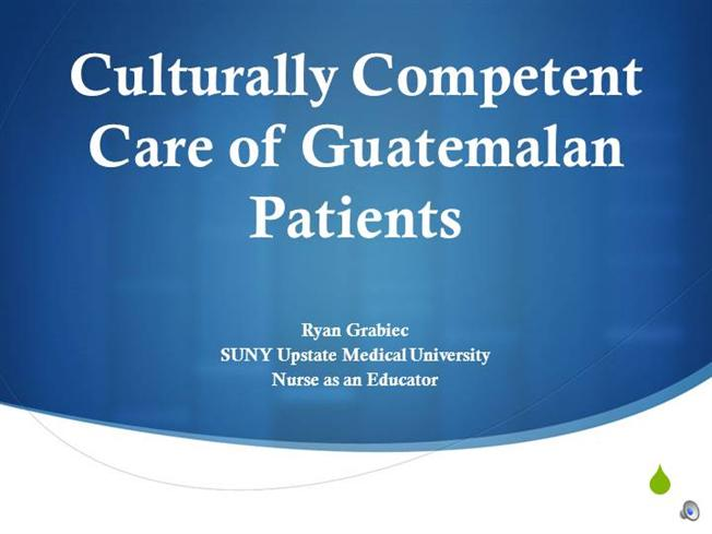 culturally competent nursing for the egyptian patient The provision of such culturally competent health care is partly a utilitarian matter, since health care dollars can be used most effectively only if patients and health care professionals are not working at cross-purposes or otherwise misunderstanding each other in clinical encounters.