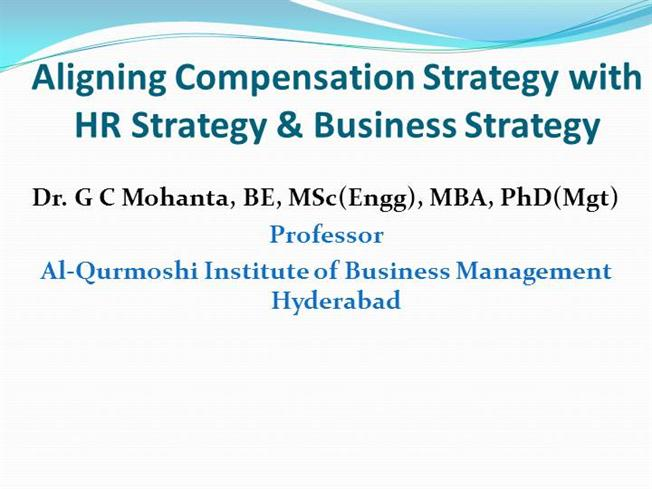 aligning strategy with hr