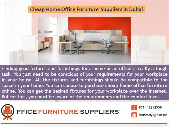 Cheap Home Office Furniture Suppliers In Dubai Authorstream