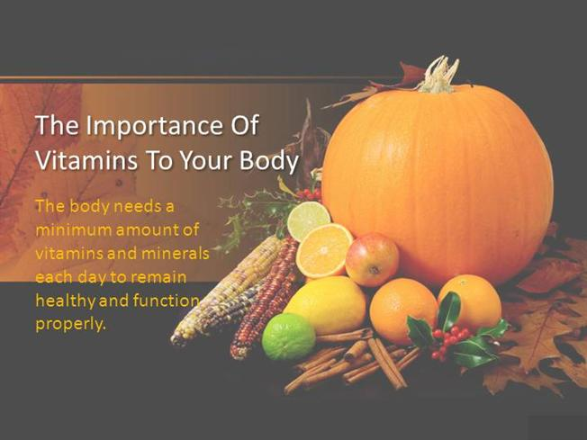 the importance of vitamins to the human body Lipids important to the body  the importance of cholesterol  this is necessary for the normal digestion and absorption of lipids and fat-soluble vitamins (a, d.