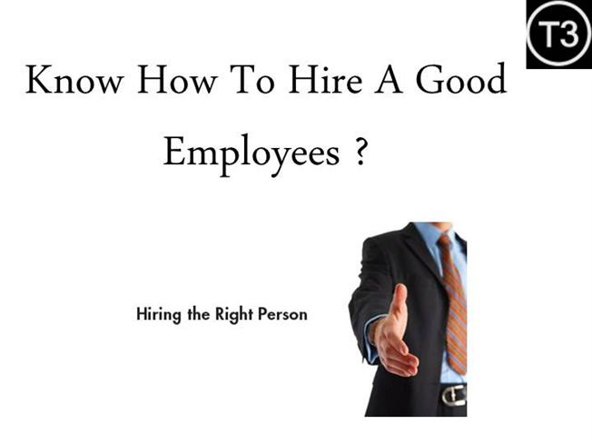 how to know who to hire