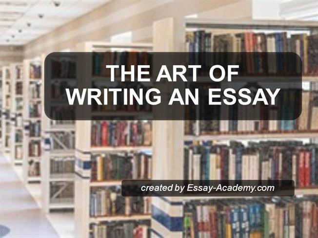 essay writing is an art Art essay writing a good art essay is an art trying to present a particular viewpoint or persuading your reader to understand the benefits of a certain thing, could be one of the most challenging tasks for a student.