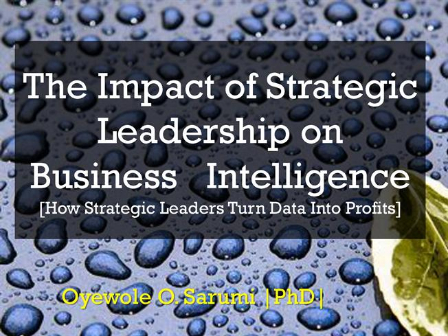 business intelligence and its impact on The business value of business intelligence while business intelligence (bi) and analyzing a new product's profitability and its impact on category revenue.