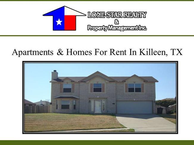 Apartments Homes For Rent In Killeen Tx Authorstream