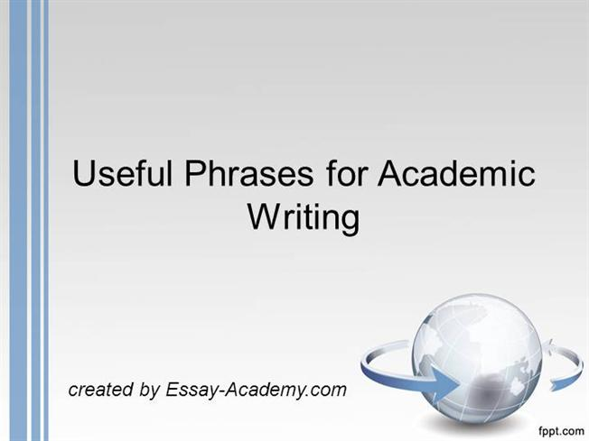 useful phrases for writing essays ielts