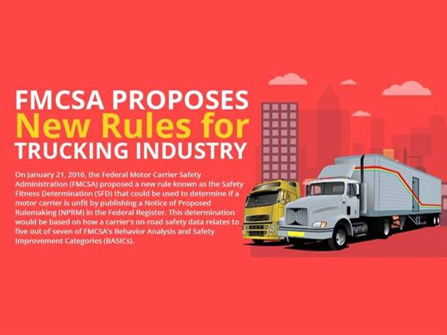 Fmcsa proposes new rules for trucking industry authorstream for Federal motor carrier safety regulations pdf