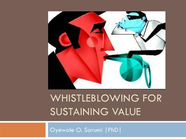 to whistleblow or not to whistlebow If the employee complains internally within the company, the employee is not  protected by the whistleblower laws however, he or she may be protected by.