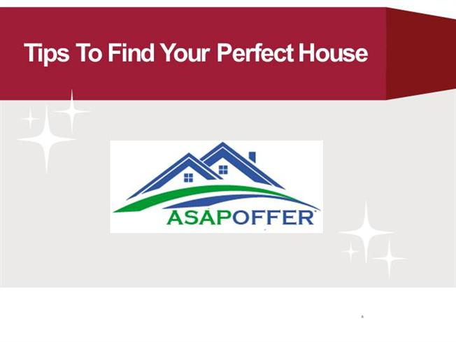 Tips to find your perfect house authorstream for Find my perfect house
