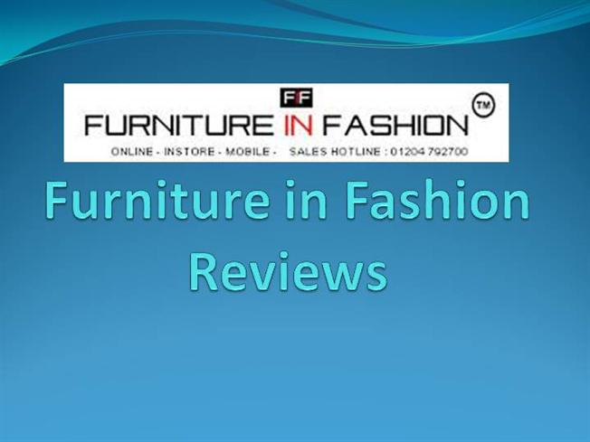 Furniture in fashion reviews authorstream for Furniture in fashion