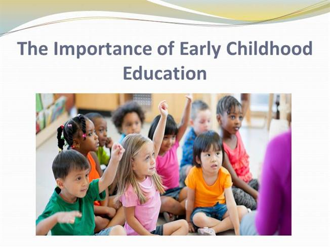 early childhood education is important to Learn about the collaborative initiative to advance a unified early childhood education profession for why is play important 10 things every parent should know.