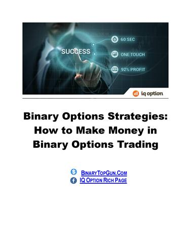 How do brokers make money on binary options
