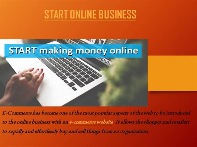 an introduction to the online business information and e commerce