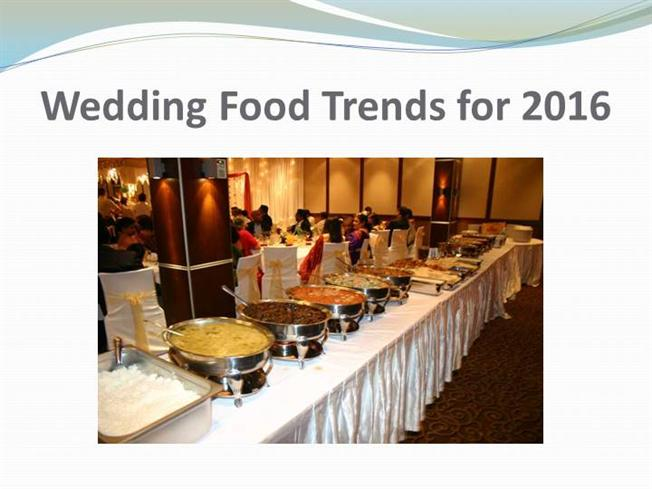 wedding food trends for 2016 authorstream. Black Bedroom Furniture Sets. Home Design Ideas