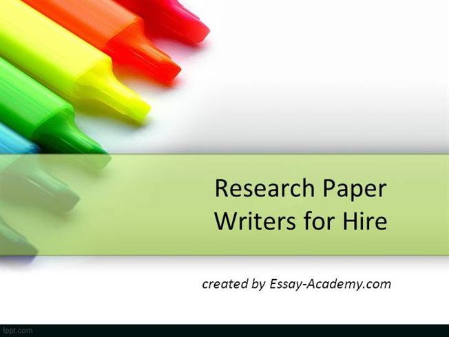 Hire Research Paper Writer: Best Research Paper Service