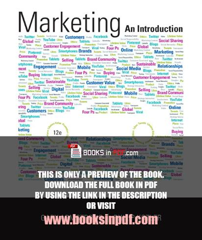 principles of marketing by philip kotler 14th edition pdf free