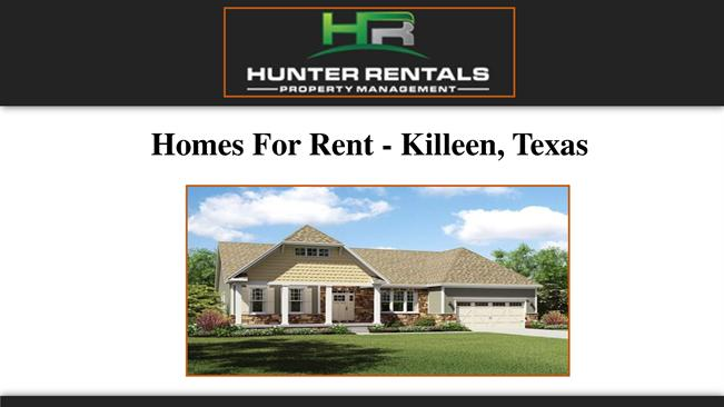 Homes For Rent Killeen Texas Authorstream