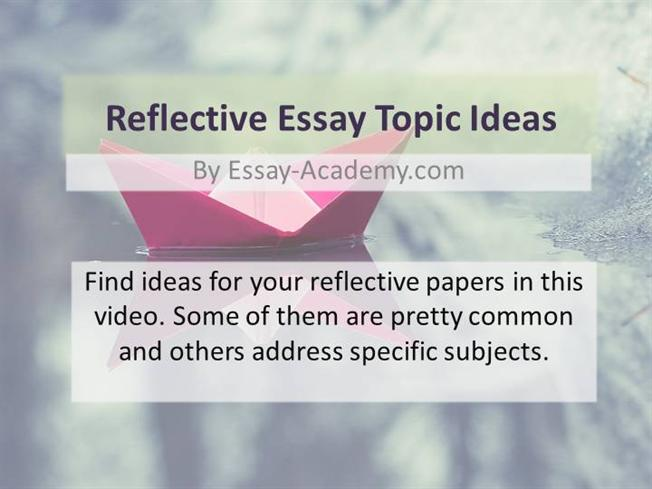 presentation reflection essay