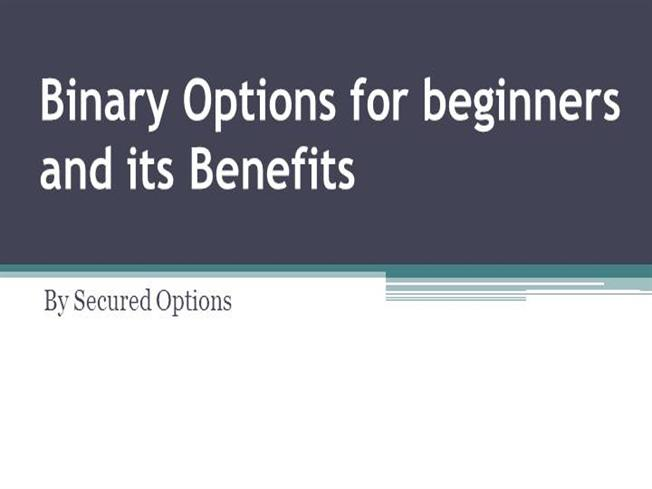 Binary options for beginners