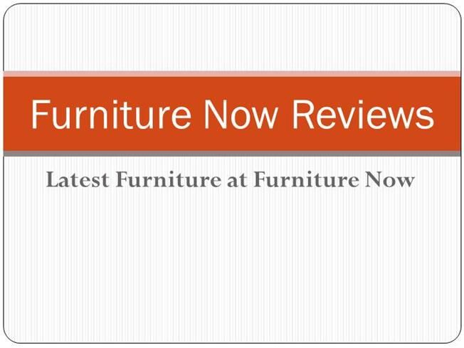 Furniture now reviews authorstream price busters discount for Furniture now