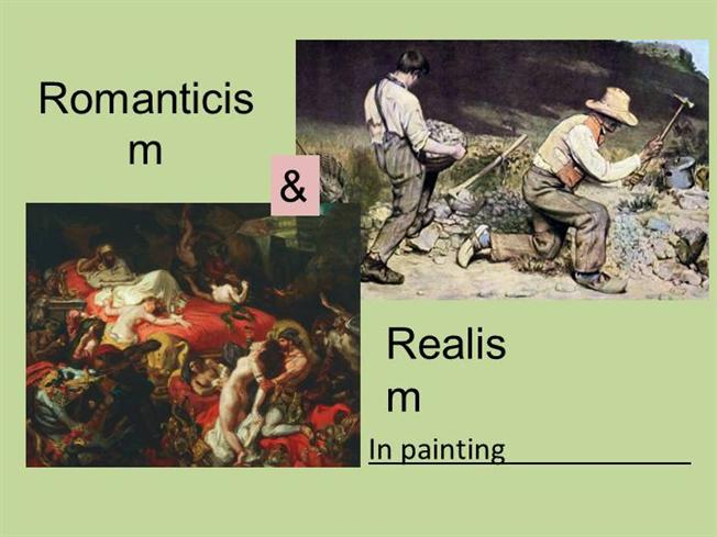 Changes in the Periods of Realism and Romanticism