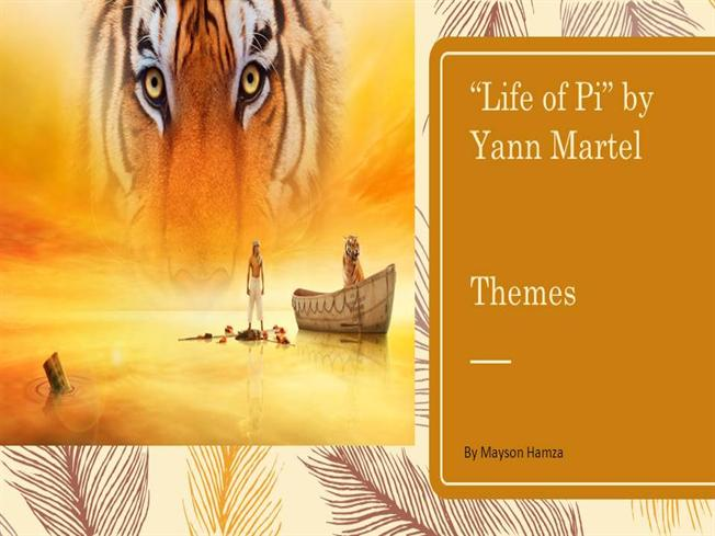 life of pi theme Book themed cupcakes: 'life of pi' by yann martel  cassandra will create a  recipe and a cupcake that plays up the themes of each book.