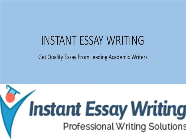 instant essay Instant essay writing 148 likes instant essay writing is the professional academic writing service provider in uk, usa, canada, australia, and new.