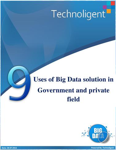 an introduction of big data as the solution for governments to improve productivity and working effi Big data is a term that describes the large volume of data – both structured and unstructured – that inundates a business on a day-to-day basis but it's not the amount of data that's important it's what organizations do with the data that matters big data can be analyzed for insights.