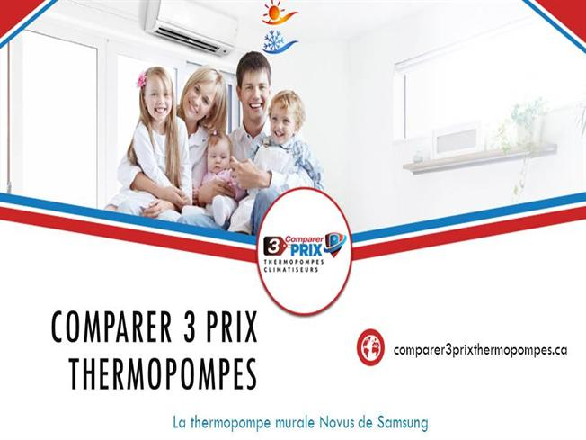 Thermopompe murale novus de samsung comparer 3 prix authorstream - Temperature ambiante ideale ...